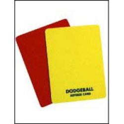 画像1: 警告カード【イエロー、レッドの2枚組】
