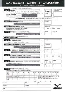 画像4: ミズノ ドッジボールユニフォーム【胸番・背番号&チーム名プリント】